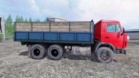 КамАЗ-55102 v2.5 для Farming Simulator 2015