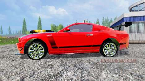 Ford Mustang Boss 302 для Farming Simulator 2015