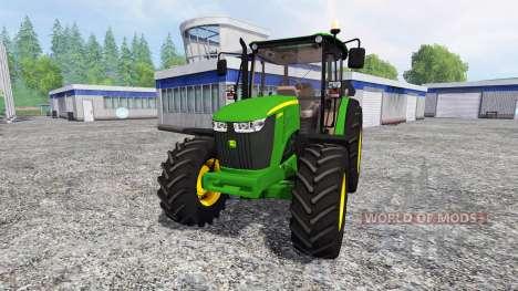 John Deere 5085M для Farming Simulator 2015