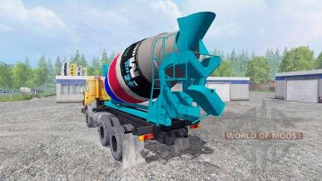 КамАЗ-55102 [миксер] для Farming Simulator 2015