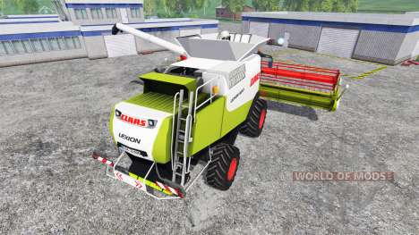 CLAAS Lexion 600 для Farming Simulator 2015