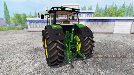 John Deere 6190R для Farming Simulator 2015