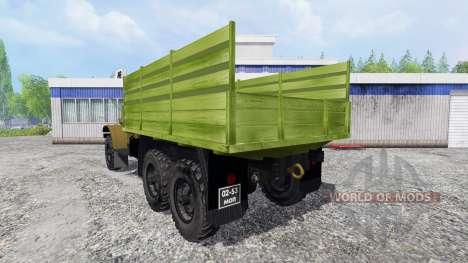 ЗиЛ-157К для Farming Simulator 2015