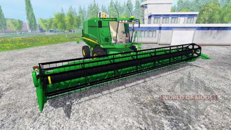 John Deere T670i для Farming Simulator 2015