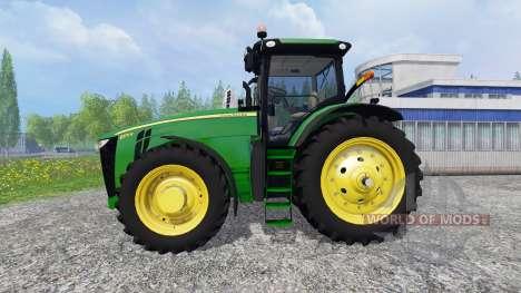 John Deere 8370R для Farming Simulator 2015