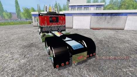 Peterbilt 379 [murderklok edition] для Farming Simulator 2015