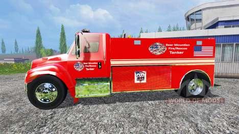 U.S Fire tanker для Farming Simulator 2015