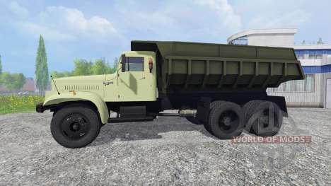 КрАЗ-257 для Farming Simulator 2015