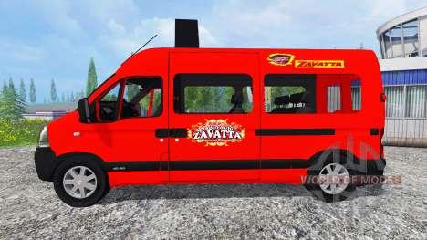 Renault Master Zavatta для Farming Simulator 2015