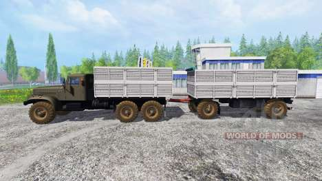 КрАЗ-256 v2.1 для Farming Simulator 2015