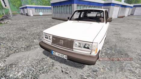 Volvo 242 Turbo для Farming Simulator 2015