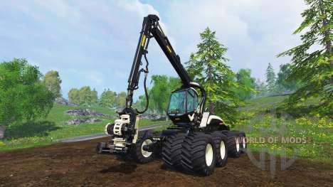 PONSSE Scorpion King [timber] для Farming Simulator 2015