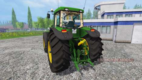 John Deere 8520 [washable] для Farming Simulator 2015