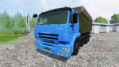КамАЗ-65117 [турбо] для Farming Simulator 2015