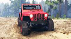 Jeep Wrangler 2005 для Spin Tires