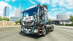 Скин Klanatrans на тягач Iveco для Euro Truck Simulator 2