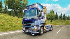 Скин Winter на тягач Scania для Euro Truck Simulator 2