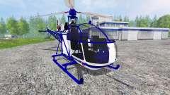 Sud-Aviation Alouette II Police