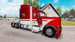 Скин Equipment Express на тягач Peterbilt 389 для American Truck Simulator