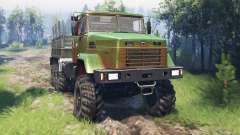 КрАЗ-7140 v4.0 для Spin Tires