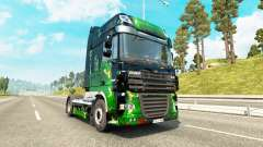 Скин ArtWorks на тягач DAF для Euro Truck Simulator 2