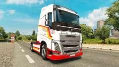 Скин Vintage на тягач Volvo для Euro Truck Simulator 2