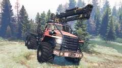 Урал-4320 Полярник v8.0 для Spin Tires
