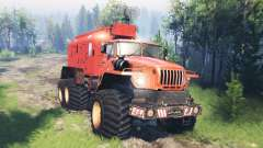 Урал-4320 Полярник v5.0 для Spin Tires