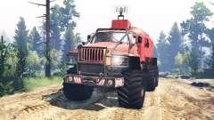 Урал-4320 Полярник v4.0 для Spin Tires