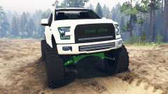 Ford F-150 [zombie edition] для Spin Tires
