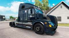 Скин Trans West на тягач Volvo VNL 670 для American Truck Simulator
