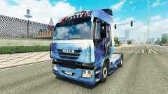 Скин Mass Effect на тягач Iveco для Euro Truck Simulator 2