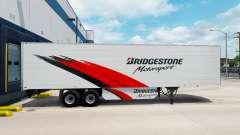 Скин Bridgestone на рефрижераторный полуприцеп для American Truck Simulator