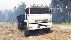 КамАЗ-65221 v2.0 для Spin Tires