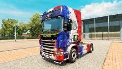 Скин France Copa 2014 на тягач Scania для Euro Truck Simulator 2