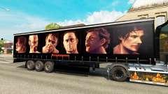 Скин Rammstein на полуприцепы для Euro Truck Simulator 2
