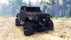 Jeep Wrangler JK8 для Spin Tires