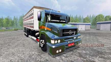 Mercedes-Benz 1620 v2.0 для Farming Simulator 2015