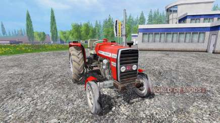 Massey Ferguson 255 [without cabin] для Farming Simulator 2015
