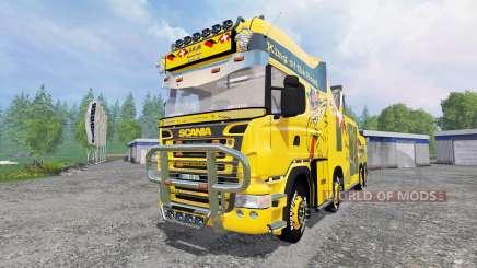 Scania R500 [tow truck] для Farming Simulator 2015