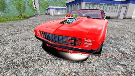 Chevrolet Camaro Z28 1969 для Farming Simulator 2015