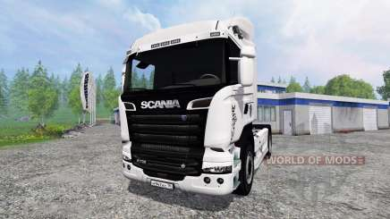 Scania R730 Streamliner v2.0 для Farming Simulator 2015
