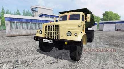 КрАЗ-256Б v1.2 для Farming Simulator 2015