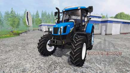 New Holland T6.120 v1.3 для Farming Simulator 2015