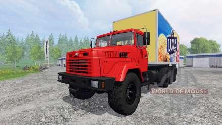 КрАЗ-7140Н6 для Farming Simulator 2015