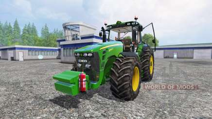 John Deere 8345R для Farming Simulator 2015