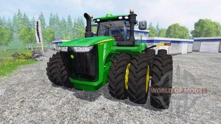 John Deere 9620R для Farming Simulator 2015