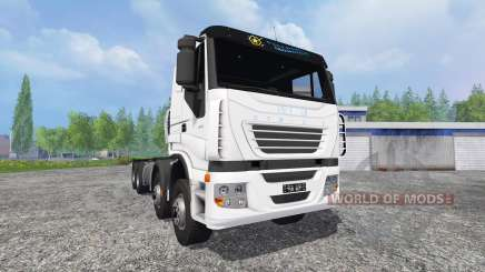 Iveco Stralis [clixtar] v1.4 для Farming Simulator 2015