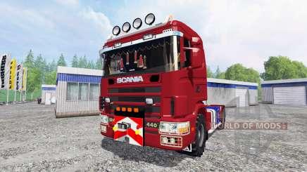 Scania 124L для Farming Simulator 2015