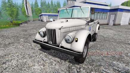 ГАЗ-69 для Farming Simulator 2015